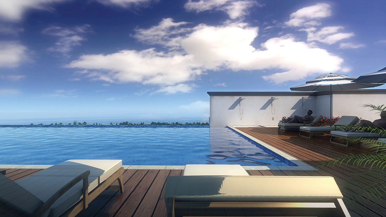 Infinity Pool Party Deck