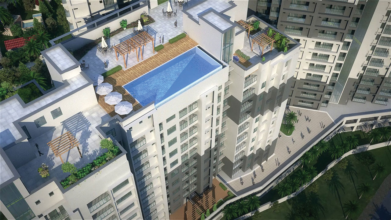 Pool Sky View
