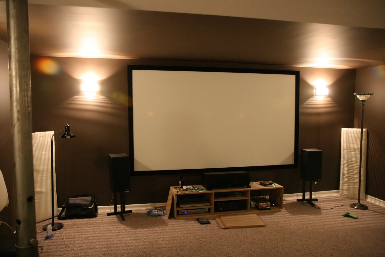 how to build a movie theater room in your apartment indroyal rh indroyalproperties com Home Theater Projector Setup German TV for Home Theater Projectors