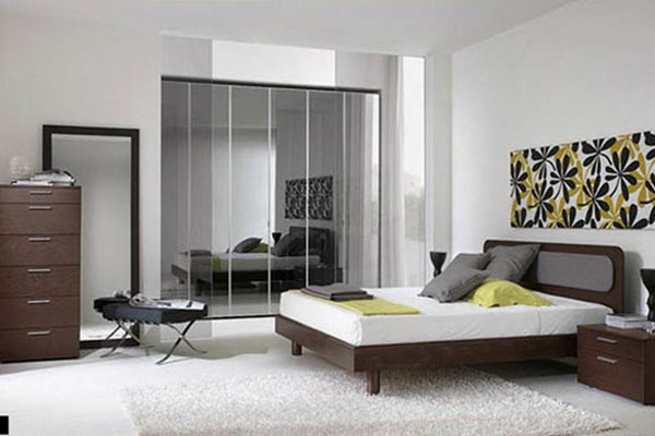 How To Choose The Right Mirror For Your Wall Space Indroyal - Indroyal bedroom furniture