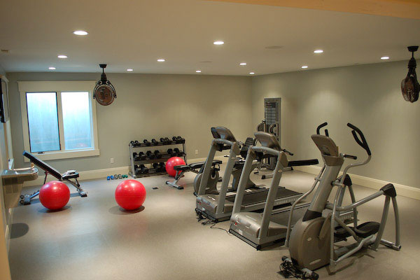 Set up your own gym at apartment indroyal properties