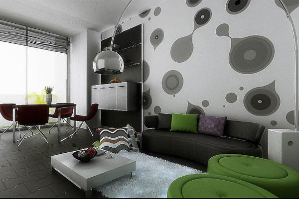 Creative Ways to Use Wallpaper in Apartment