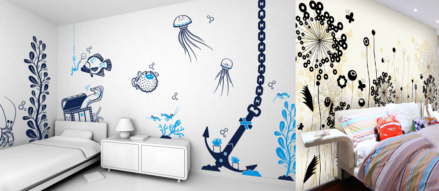 Creative Ways to Use Wallpaper in Apartment - Indroyal Properties