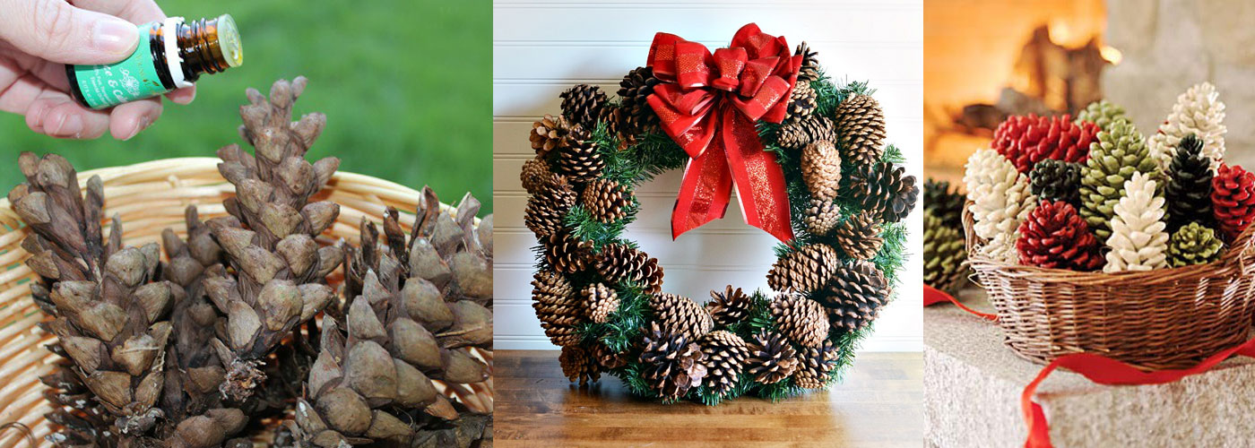 Scented-Pinecones